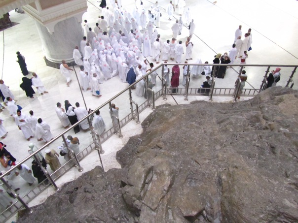 Among the groups during `Umrah (2011)..