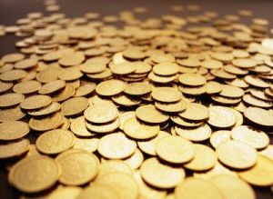 Gold Coins --- Image by © Duncan Smith/Corbis
