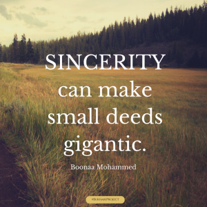 SINCERITY QUOTE.