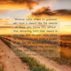 Call to guidance. #Dawah