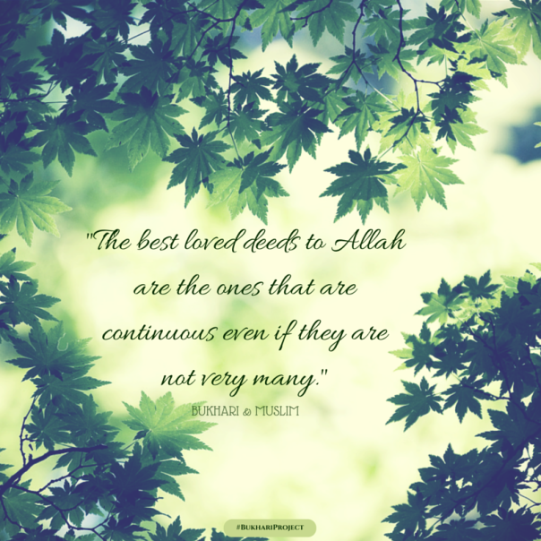 Most Beloved Deeds to Allah